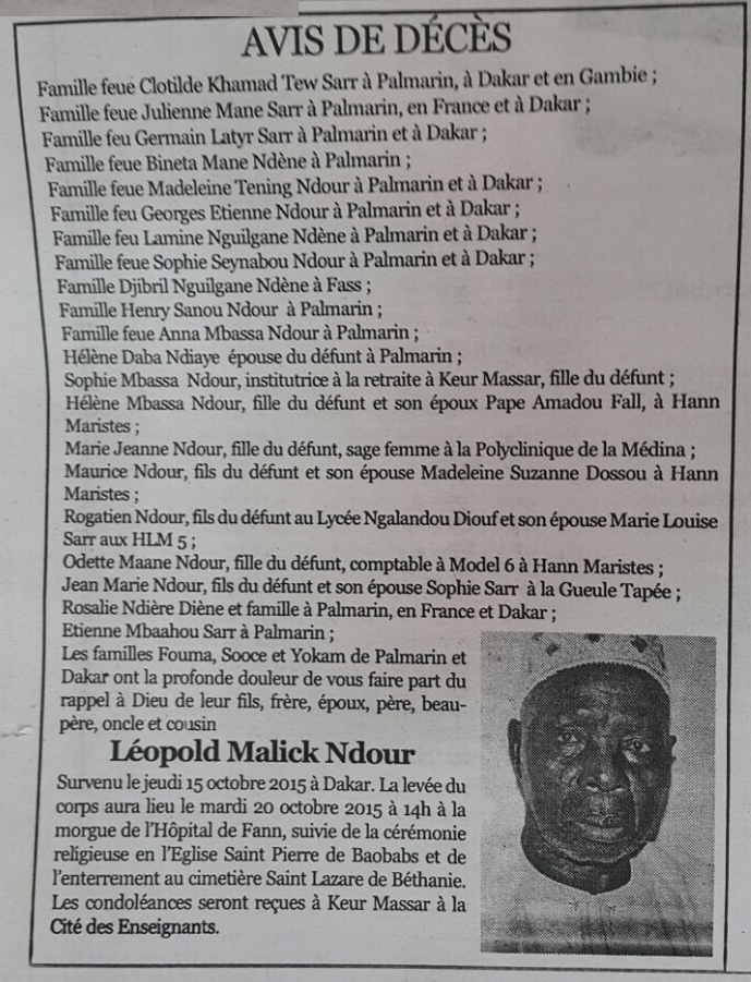 Leopold Malick Ndour